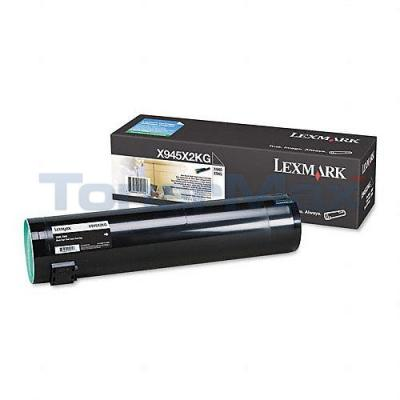 LEXMARK X940E TONER CARTRIDGE BLACK 36K